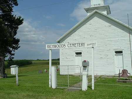 NORTH RICHWOODS, CEMETERY - Henry County, Iowa   CEMETERY NORTH RICHWOODS