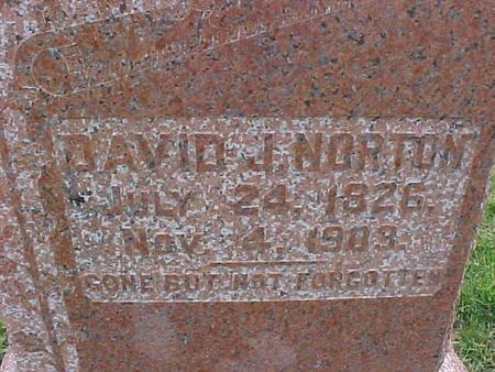 NORTON, DAVID J. - Henry County, Iowa | DAVID J. NORTON