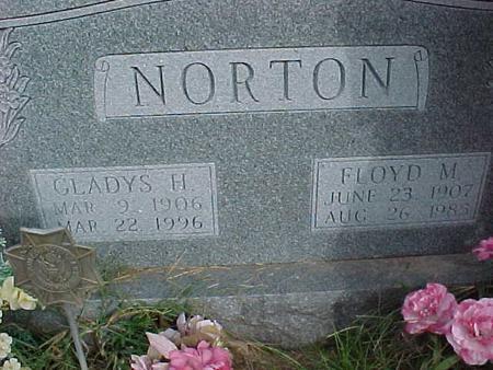 NORTON, GLADYS H - Henry County, Iowa | GLADYS H NORTON