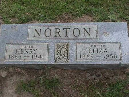 NORTON, ELIZA - Henry County, Iowa | ELIZA NORTON
