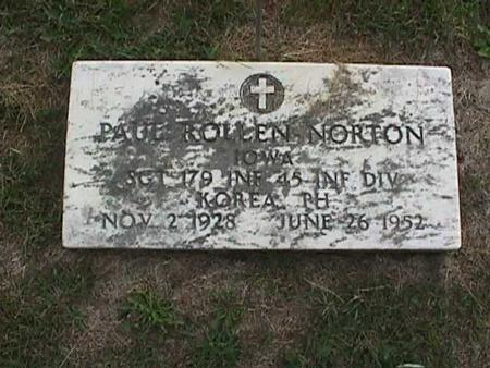 NORTON, PAUL ROLLEN - Henry County, Iowa | PAUL ROLLEN NORTON