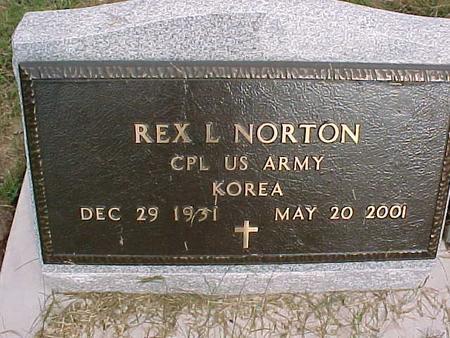 NORTON, REX L - Henry County, Iowa | REX L NORTON