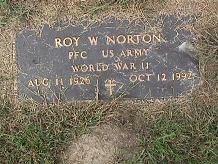 NORTON, ROY W. - Henry County, Iowa   ROY W. NORTON