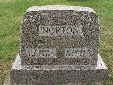 NORTON, SHERMAN P - Henry County, Iowa | SHERMAN P NORTON