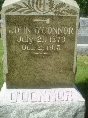 O'CONNOR, JOHN - Henry County, Iowa   JOHN O'CONNOR