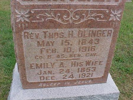 OLINGER, EMILY - Henry County, Iowa | EMILY OLINGER