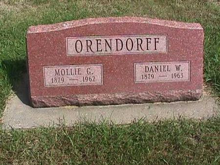 ORENDORFF, MOLLIE - Henry County, Iowa | MOLLIE ORENDORFF