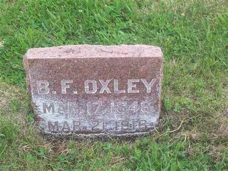 OXLEY, B. F. - Henry County, Iowa | B. F. OXLEY