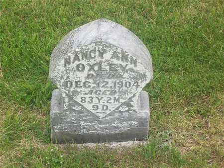 CAPEHART OXLEY, NANCY ANN - Henry County, Iowa | NANCY ANN CAPEHART OXLEY