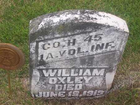 OXLEY, WILLIAM - Henry County, Iowa | WILLIAM OXLEY