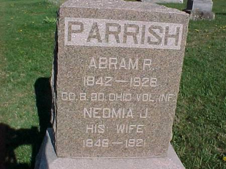PARRISH, NEOMIA J. - Henry County, Iowa   NEOMIA J. PARRISH