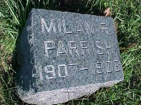 PARRISH, MILAN R. - Henry County, Iowa | MILAN R. PARRISH