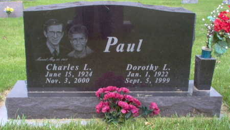 PAUL, CHARLES L - Henry County, Iowa | CHARLES L PAUL