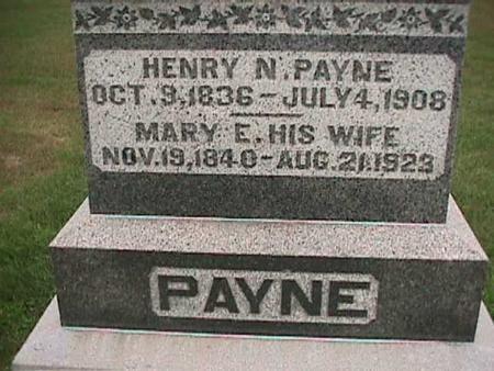 PAYNE, HENRY - Henry County, Iowa | HENRY PAYNE