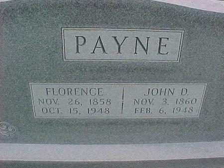 PAYNE, JOHN - Henry County, Iowa   JOHN PAYNE