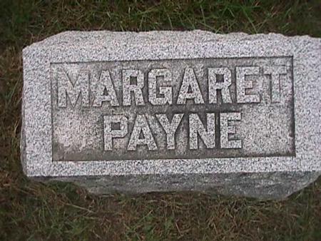 PAYNE, MARGARET - Henry County, Iowa   MARGARET PAYNE