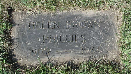 PHILLIPS, HELEN - Henry County, Iowa | HELEN PHILLIPS