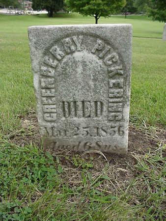 PICKERING, GREENBERRY - Henry County, Iowa | GREENBERRY PICKERING