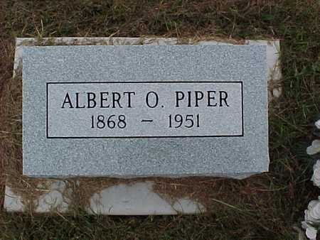 PIPER, ALBERT O. - Henry County, Iowa | ALBERT O. PIPER