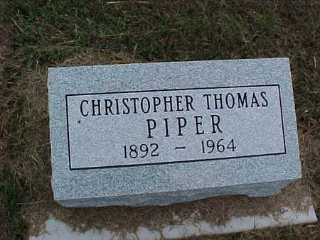 PIPER, CHRISTOPHER THOMAS - Henry County, Iowa | CHRISTOPHER THOMAS PIPER