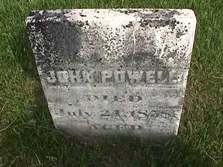 POWELL, JOHN - Henry County, Iowa | JOHN POWELL