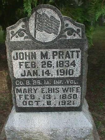 PRATT, MARY E - Henry County, Iowa | MARY E PRATT