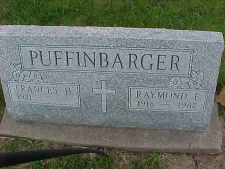 PUFFINBARGER, FRANCES H. - Henry County, Iowa | FRANCES H. PUFFINBARGER