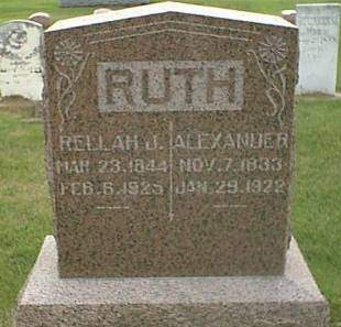RUTH, RELLA J.  - Henry County, Iowa | RELLA J.  RUTH