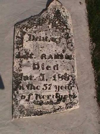 RANSOM BRYANT, ELIZA - Henry County, Iowa | ELIZA RANSOM BRYANT