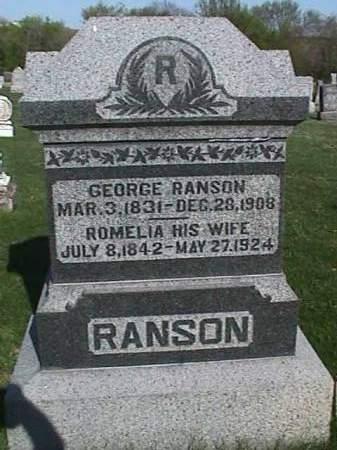 RANSON, GEORGE - Henry County, Iowa | GEORGE RANSON