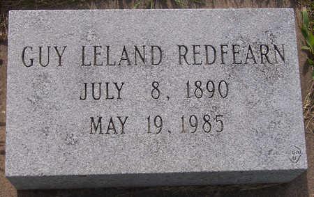 REDFEARN, GUY LELAND - Henry County, Iowa   GUY LELAND REDFEARN