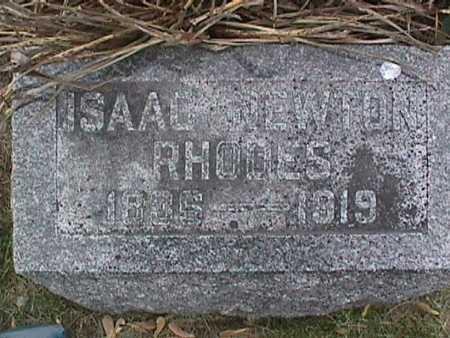 RHODES, ISAAC NEWTON - Henry County, Iowa | ISAAC NEWTON RHODES