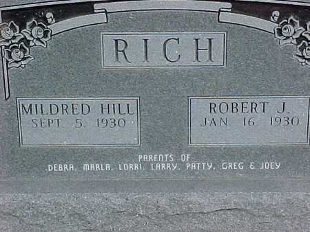 RICH, MILDRED - Henry County, Iowa | MILDRED RICH