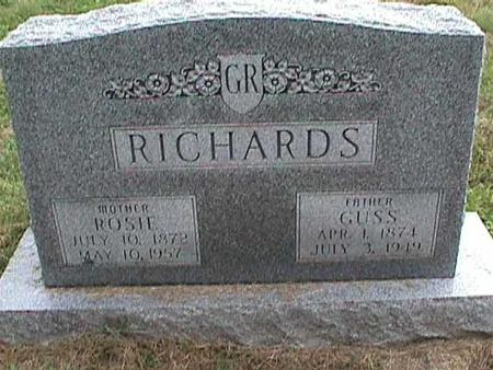 RICHARDS, ROSIE - Henry County, Iowa | ROSIE RICHARDS