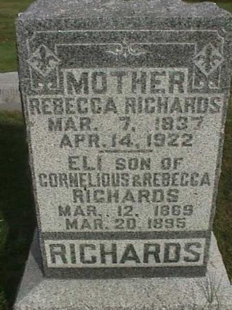 RICHARDS, ELI - Henry County, Iowa | ELI RICHARDS