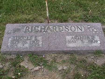 RICHARDSON, LUCILLE - Henry County, Iowa | LUCILLE RICHARDSON