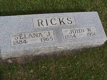 RICKS, SELENA - Henry County, Iowa | SELENA RICKS