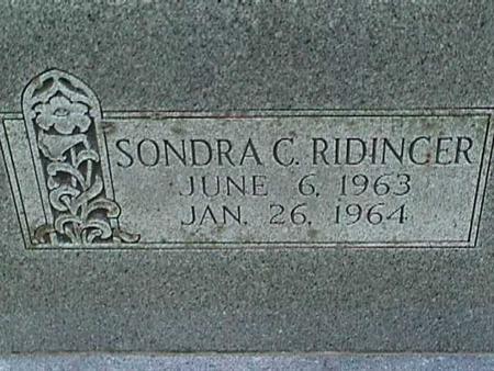 RIDINGER, SONDRA C - Henry County, Iowa | SONDRA C RIDINGER
