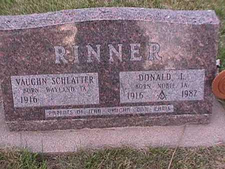 RINNER, DONALD - Henry County, Iowa | DONALD RINNER