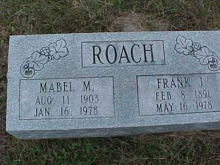 ROACH, MABLE - Henry County, Iowa | MABLE ROACH