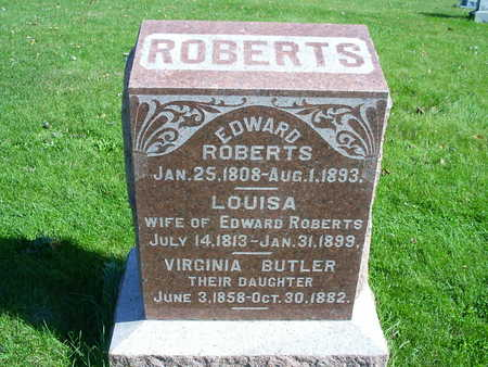 ROBERTS BUTLER, VIRGINIA - Henry County, Iowa | VIRGINIA ROBERTS BUTLER