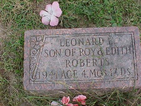 ROBERTS, LEONARD L. - Henry County, Iowa | LEONARD L. ROBERTS