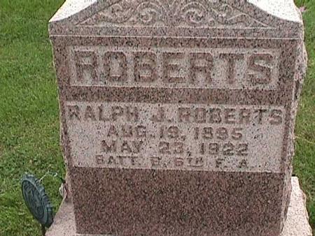 ROBERTS, RALPH J. - Henry County, Iowa | RALPH J. ROBERTS