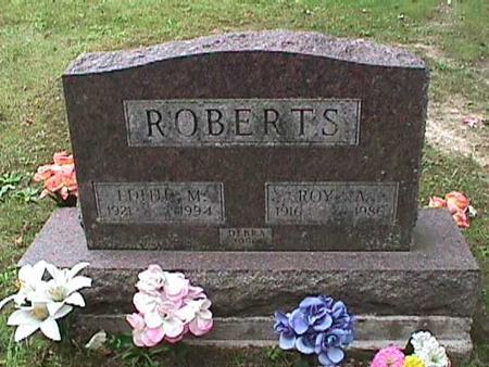 ROBERTS, EDITH M - Henry County, Iowa | EDITH M ROBERTS
