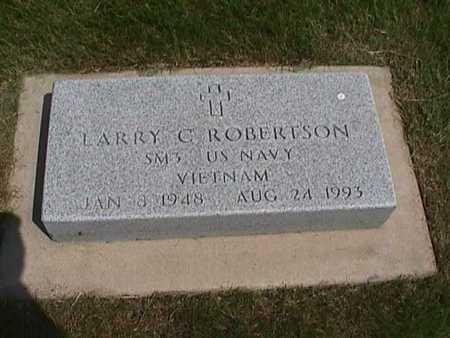 ROBERTSON, LARRY C. - Henry County, Iowa | LARRY C. ROBERTSON