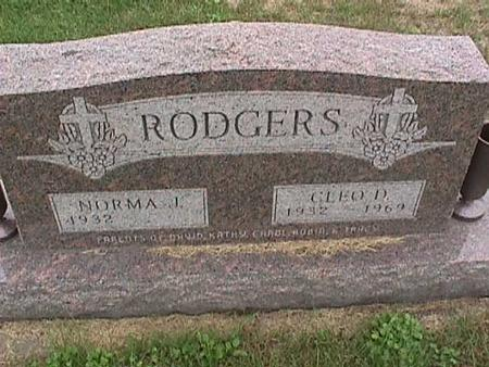 RODGERS, CLEO - Henry County, Iowa | CLEO RODGERS