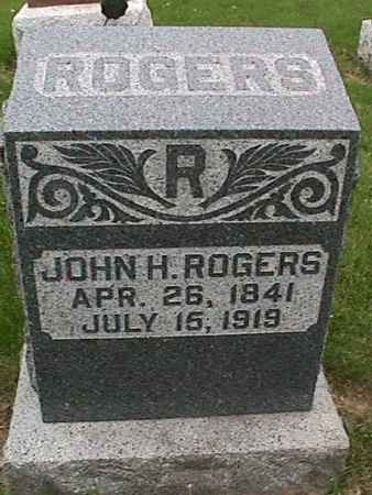 ROGERS, JOHN H. - Henry County, Iowa | JOHN H. ROGERS