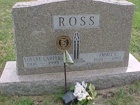 ROSS, EMMET L - Henry County, Iowa | EMMET L ROSS
