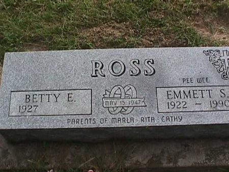 ROSS, EMMETT S - Henry County, Iowa | EMMETT S ROSS