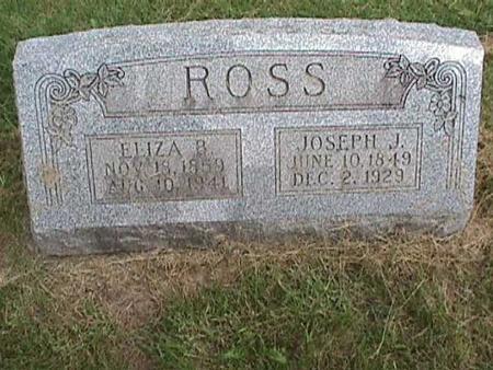 ROSS, ELIZA B - Henry County, Iowa | ELIZA B ROSS
